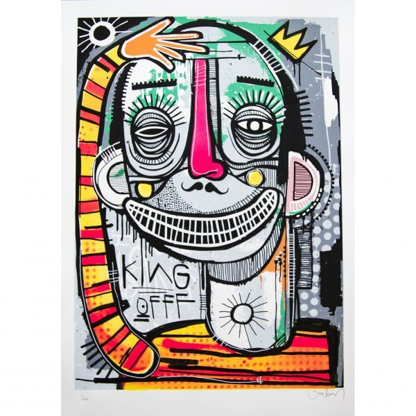 Joachim - King of Clowns Print