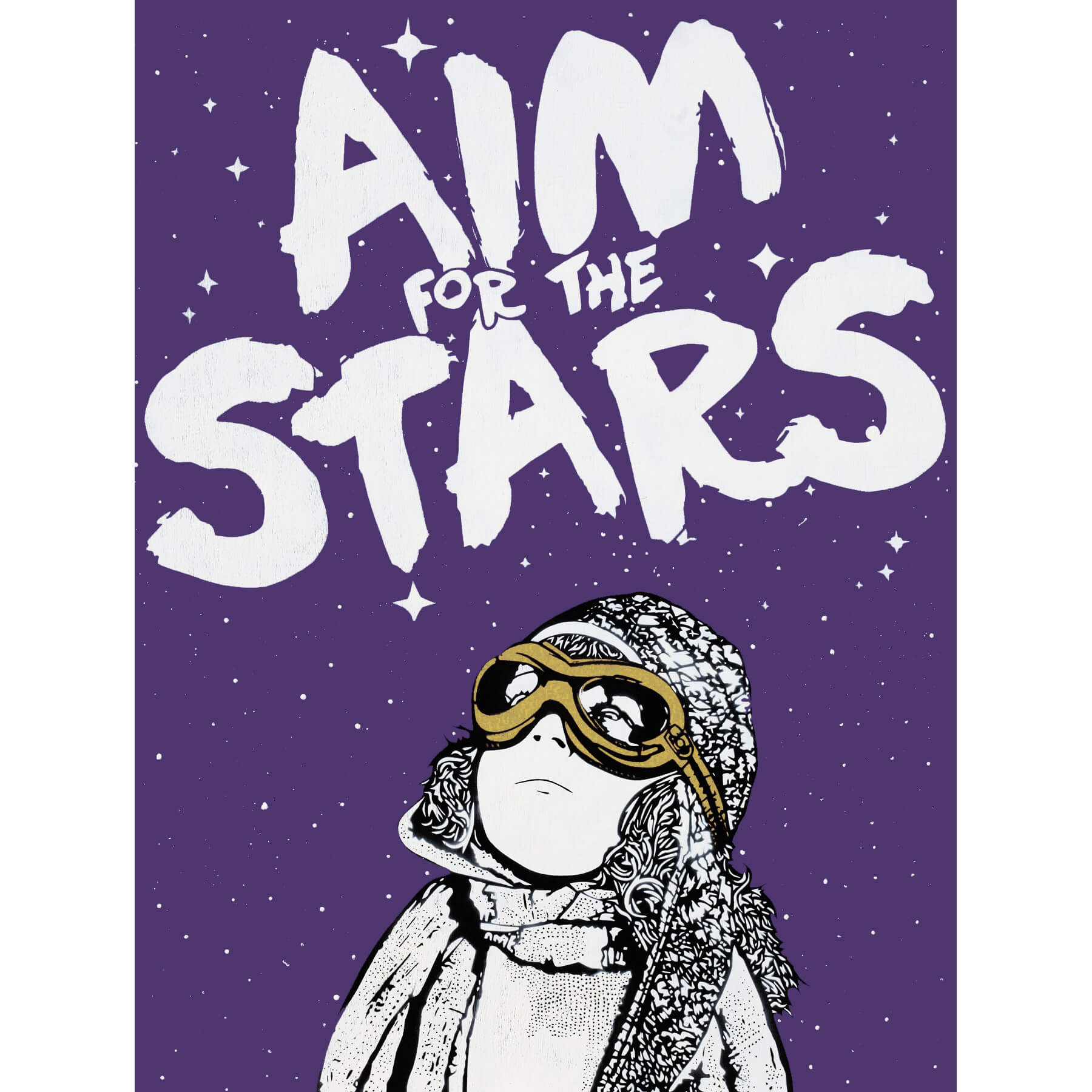NME - Aim for the Stars (Gold wood edition)