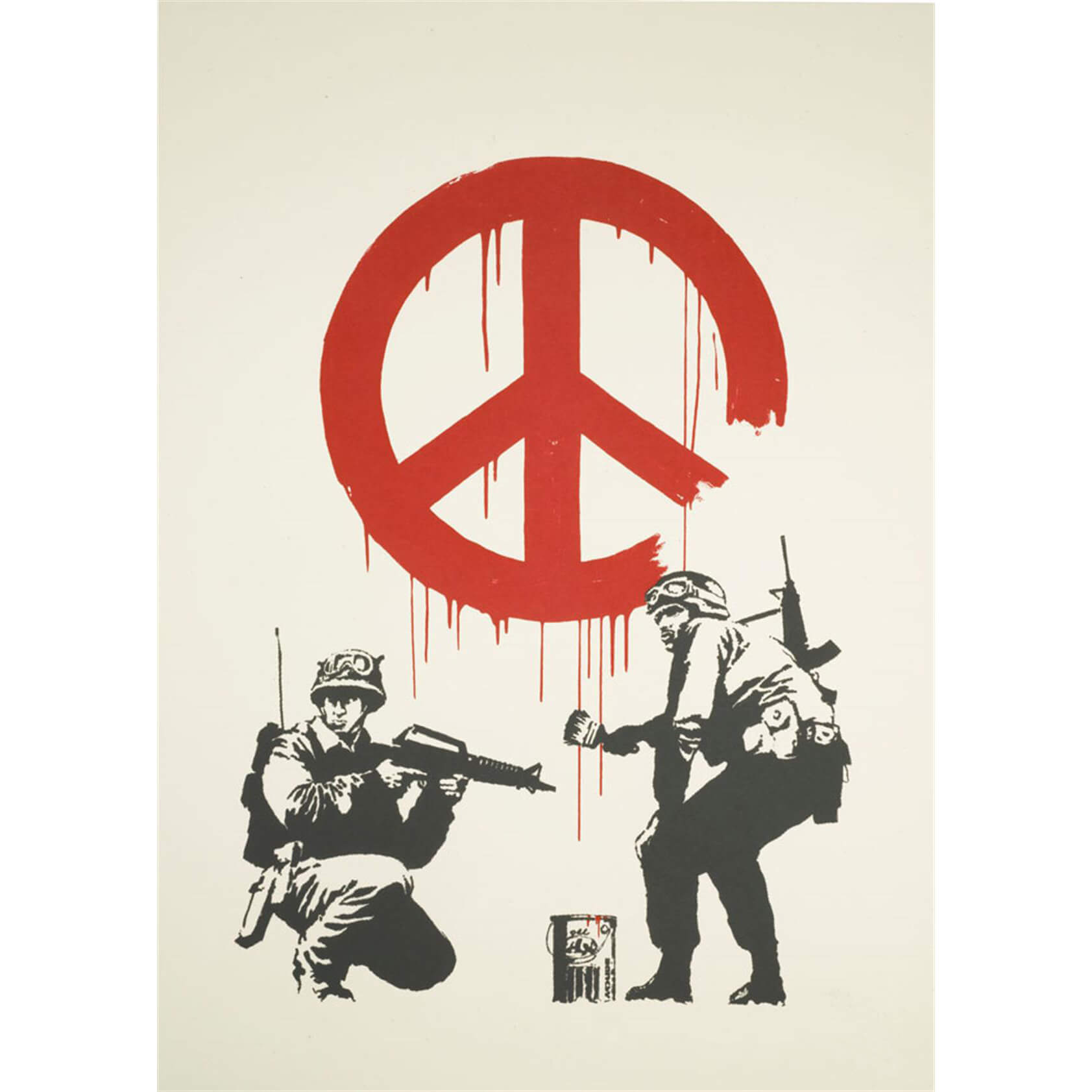 Banksy - CND Soldiers (Unsigned) Print