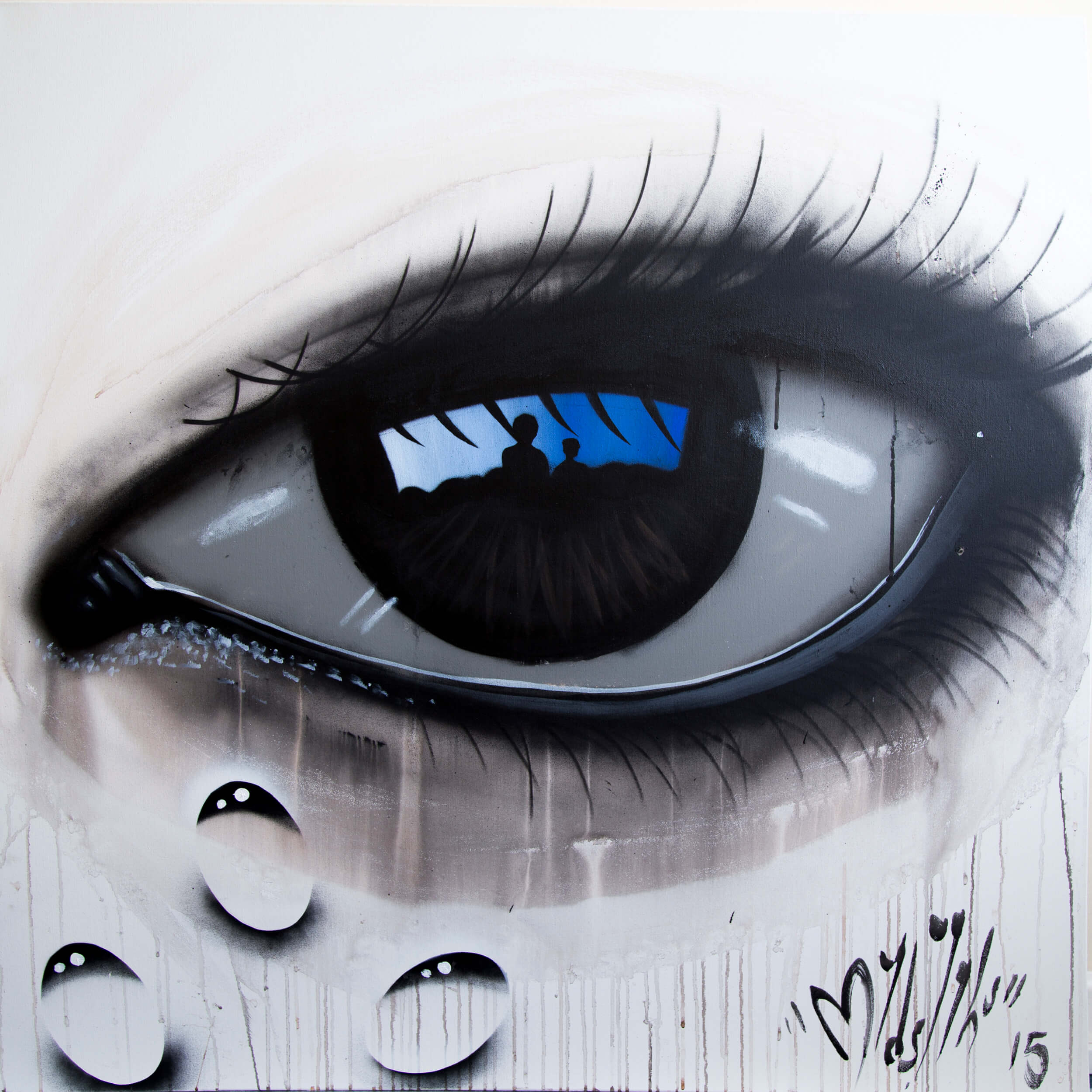 My Dog Sighs - Streets of London Canvas
