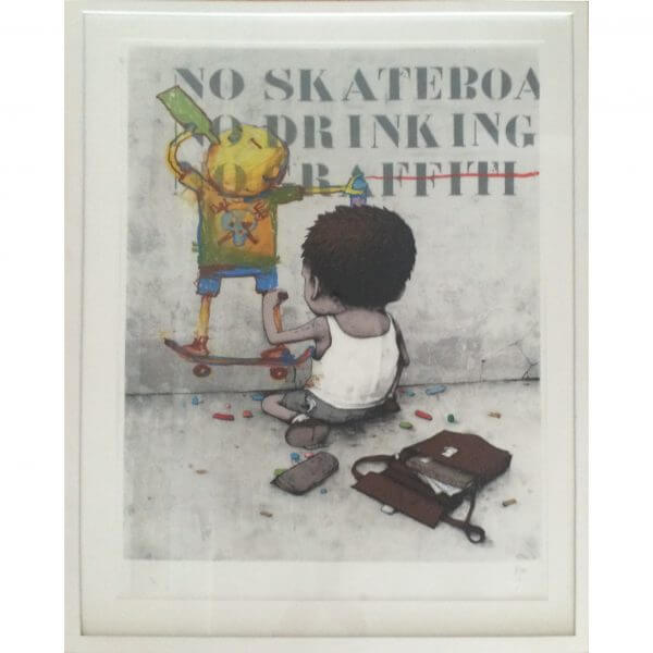 Dran - I have chalks handfinished print #79