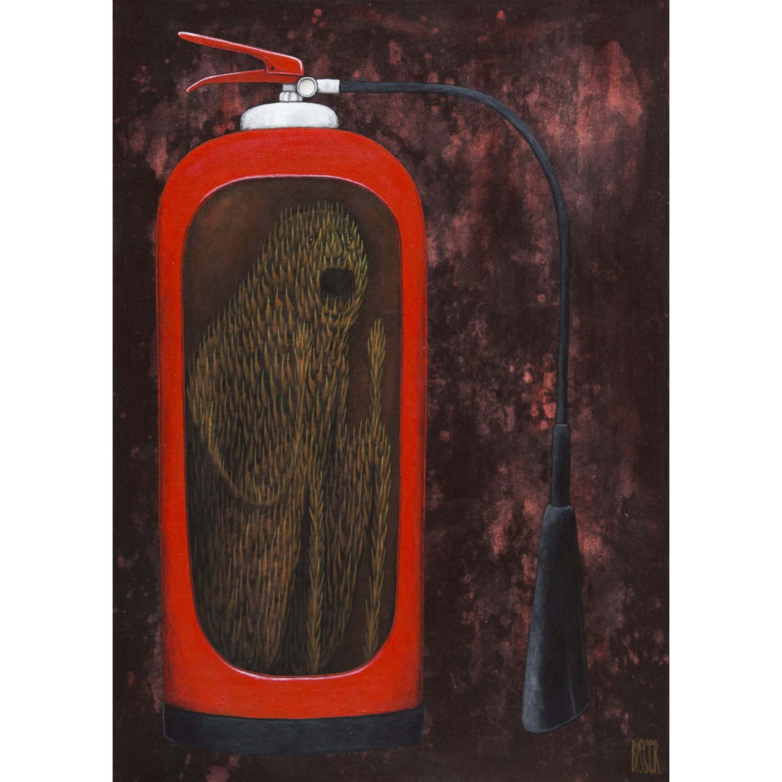 Bisser - Fire Extinguisher Canvas