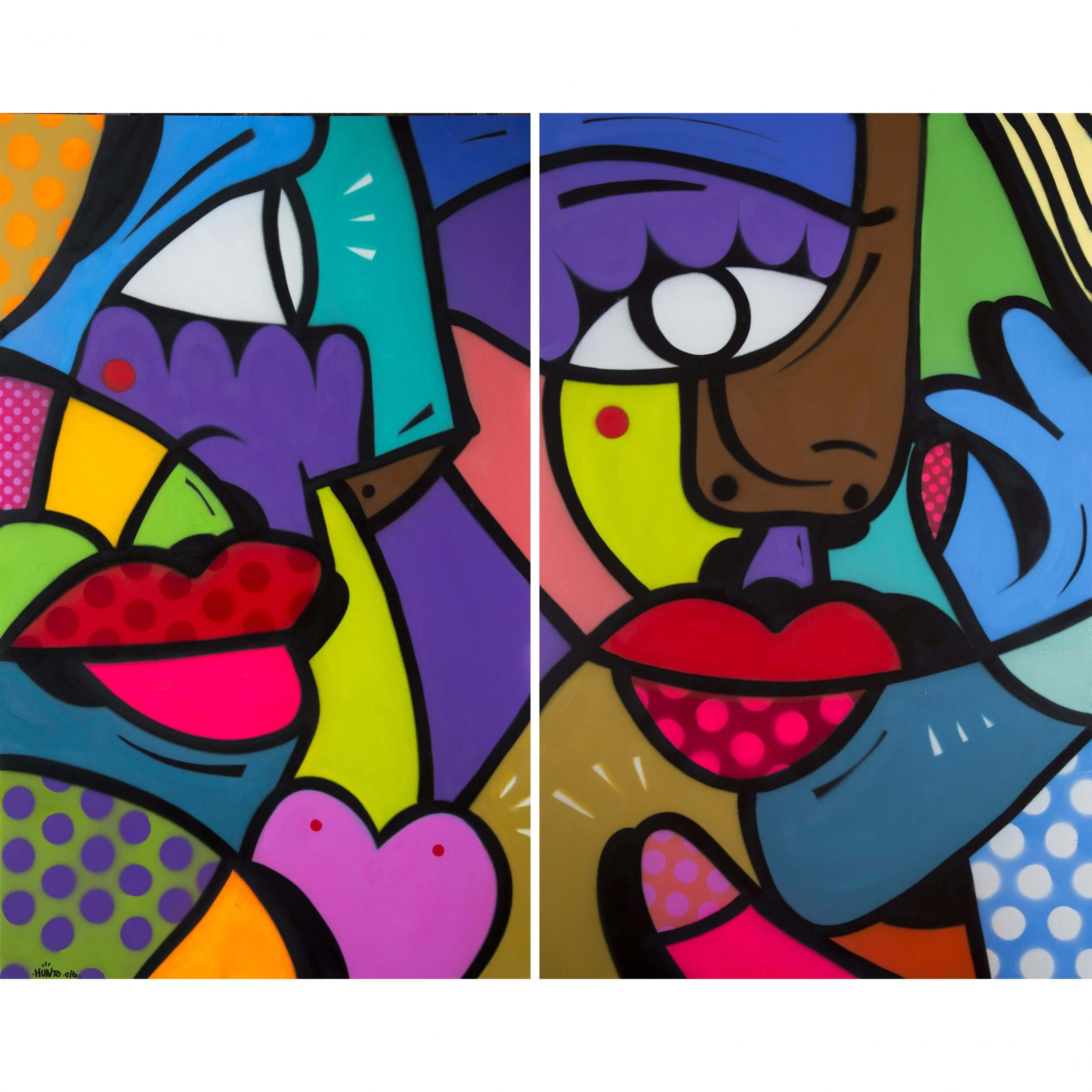 Hunto - Untitled Diptych