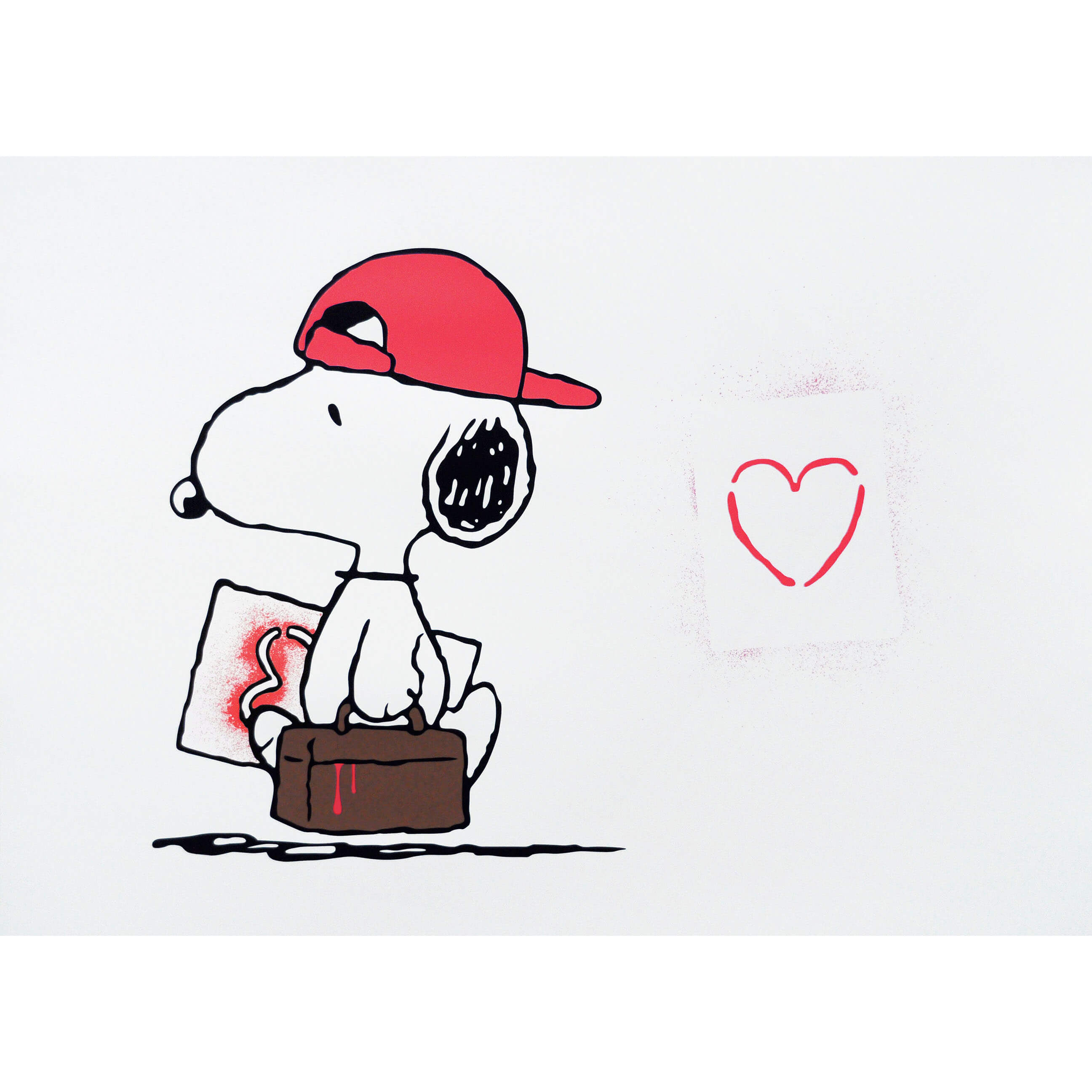 TRUST iCON - Love Vandal (Red) Print