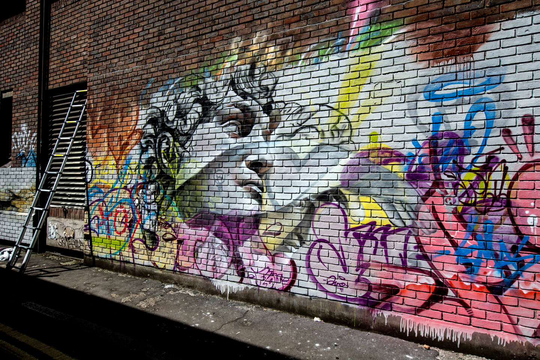 Pichiavo Graffitistreet Launch Blackall Street London 2014