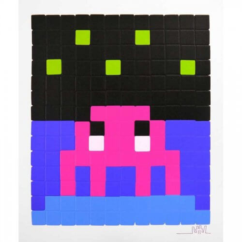 Space Invader - Space One (Pink)