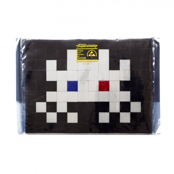 "Space Invader - Invasion Kit 14 ""3D"" (Signed)"