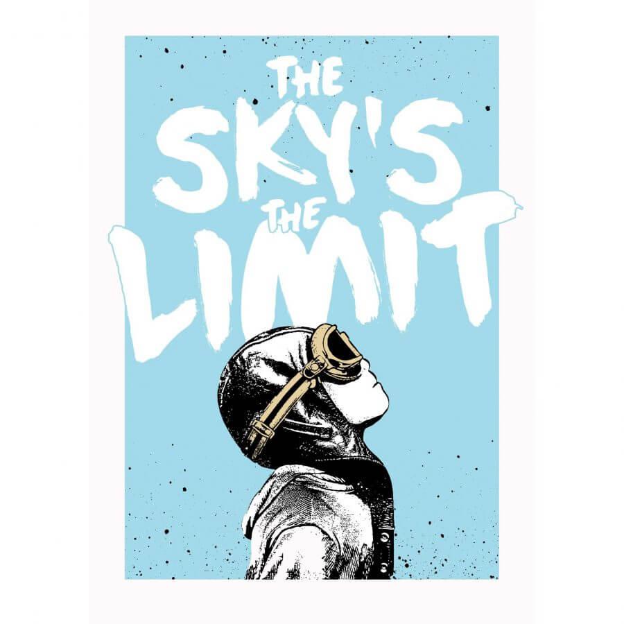 Nme The Skys The Limit Print Graffitistreetcom