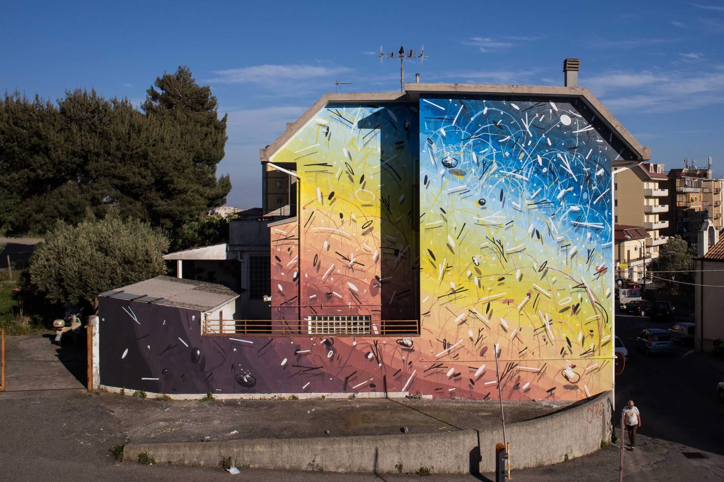 Tellas Street Art. Photo © Angelo Jaroszuk Bogasz