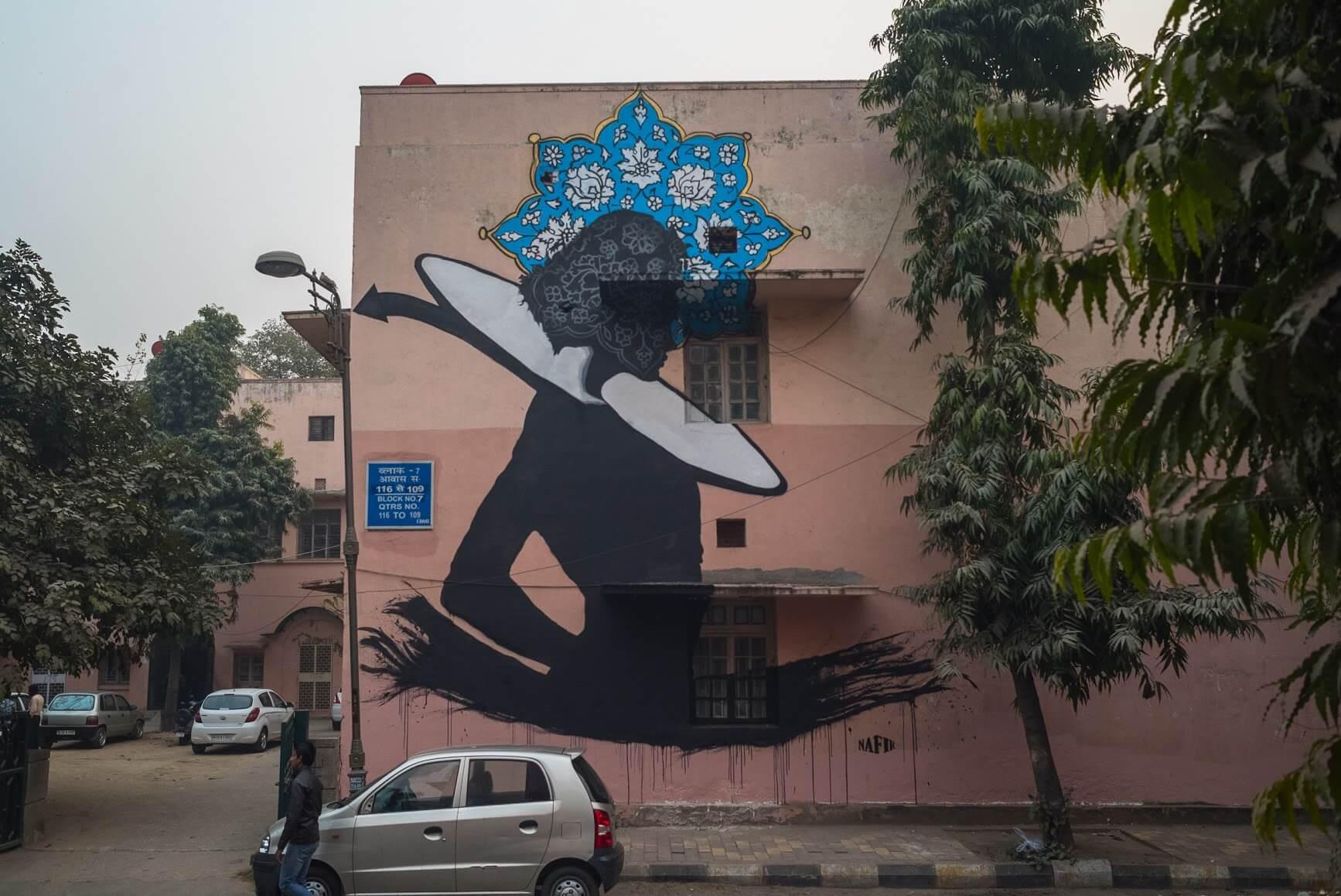 St+art Delhi Street Art Festival 2016 | GraffitiStreet com/News