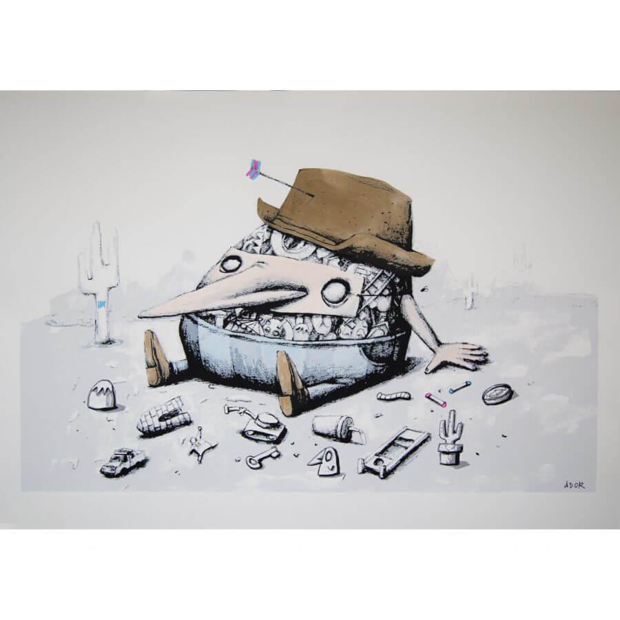 Ador - A Lost Kid Print Special Edition 1/1 #2 - GraffitiStreet