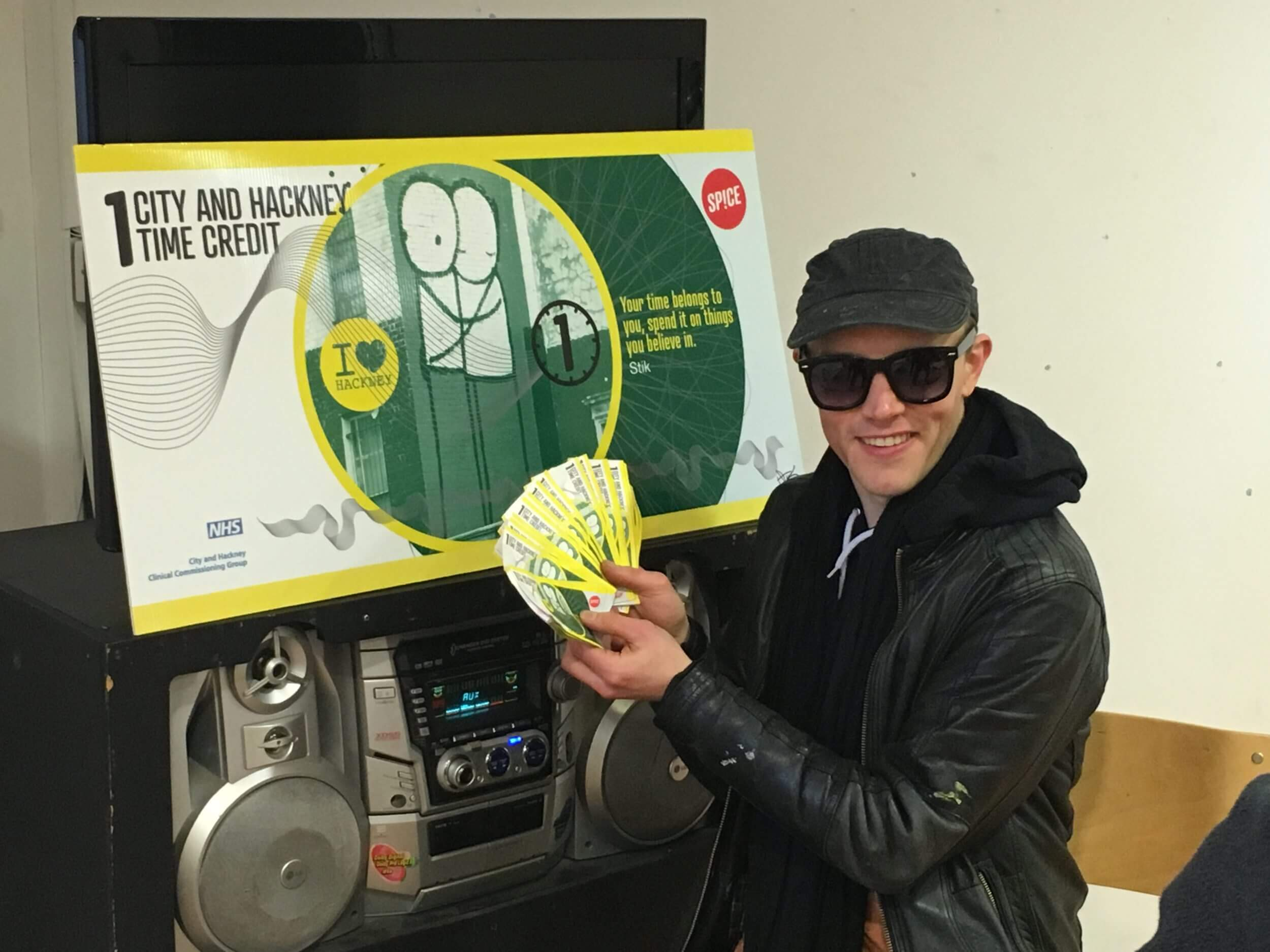 STIK Designs New Currency To Help Hackney Homeless