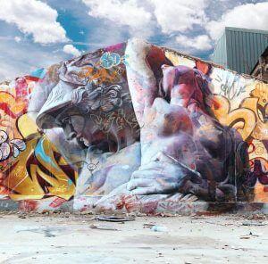 Pichiavo 'Street Capture of Polyxena' in Valencia Street Art, Spain