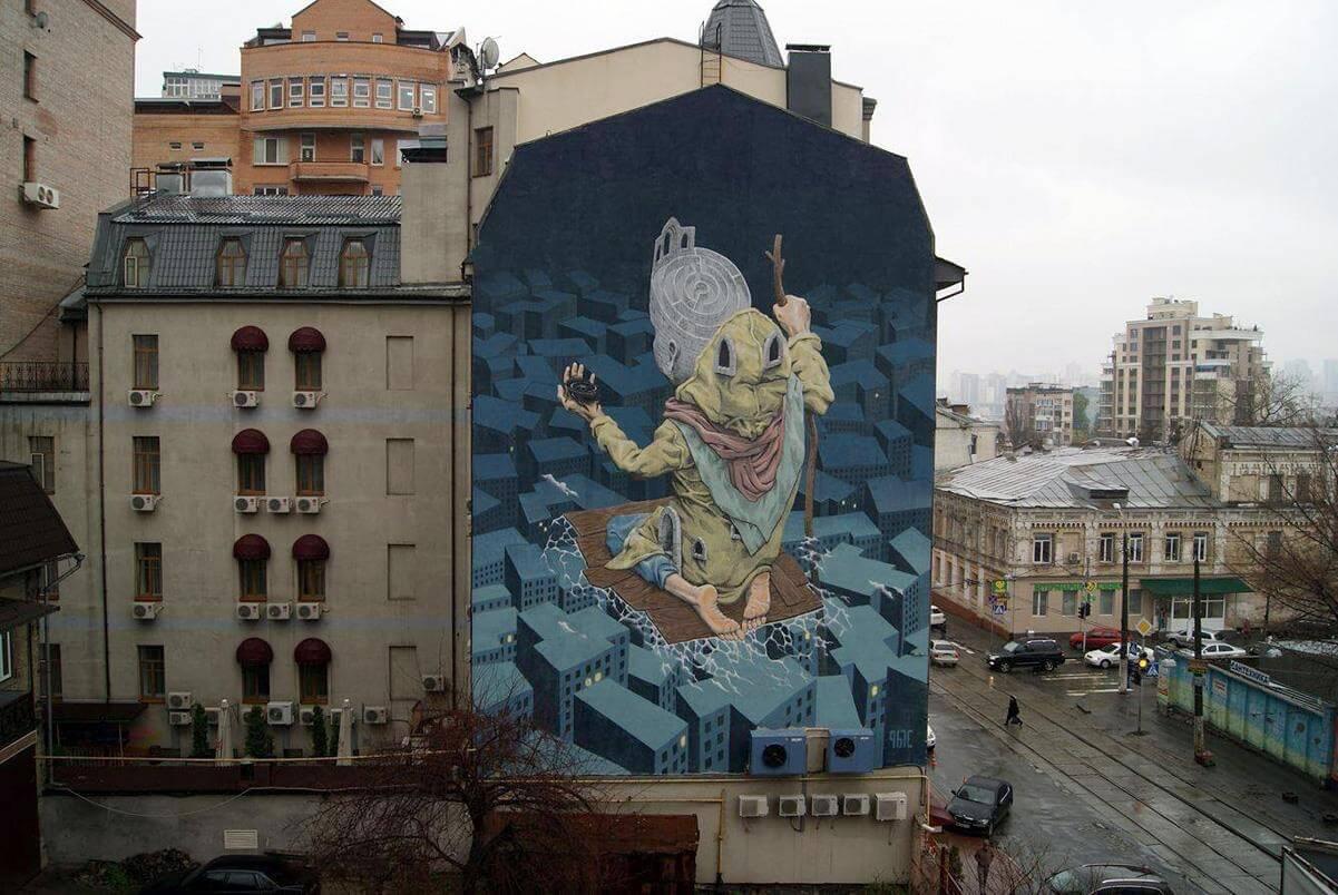 ArtUnitedUs using Street Art to Promote Peace across the World