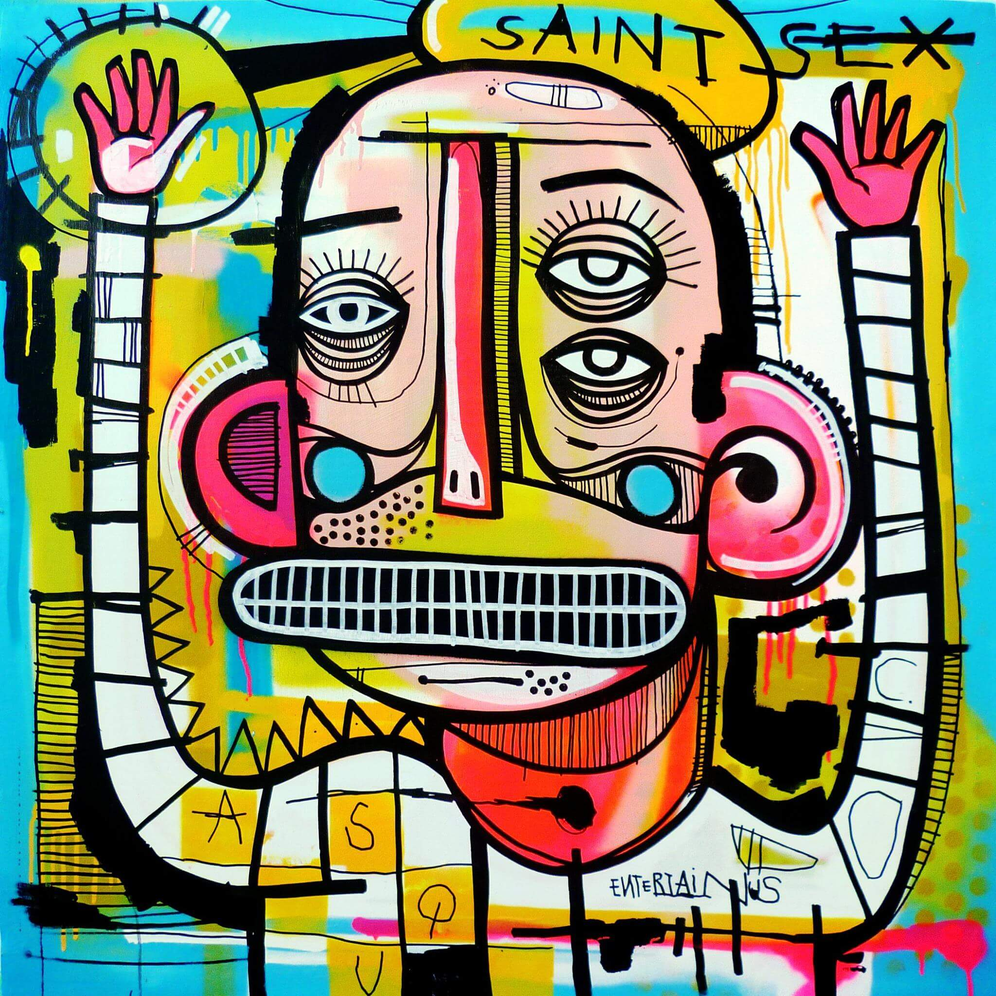 Joachim - Saint Sex Canvas