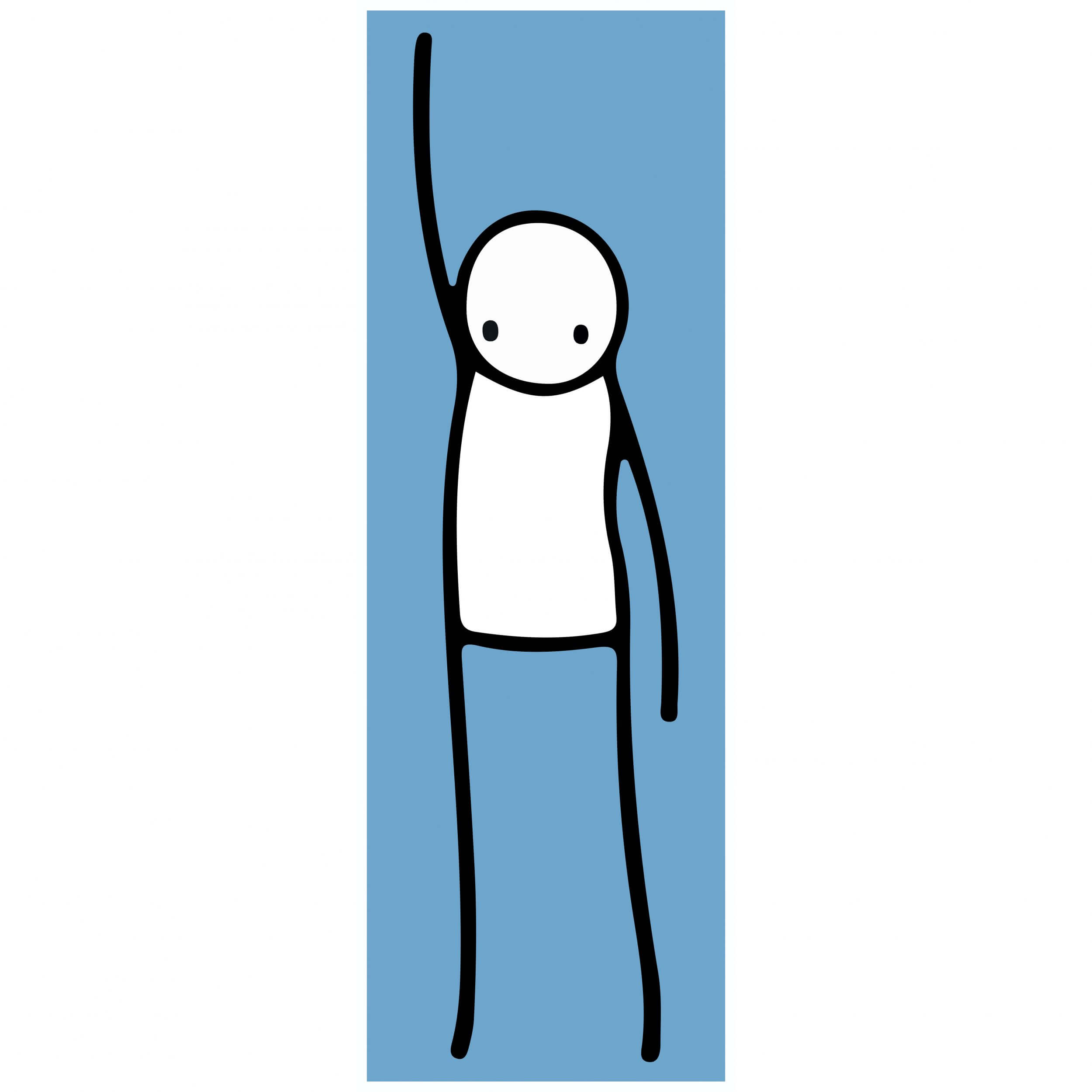 Stik - Liberty (blue) Print
