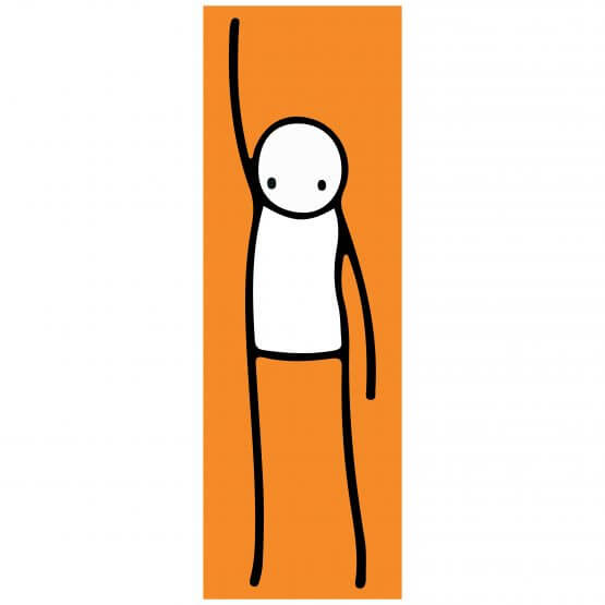 Stik - Liberty (orange) Print
