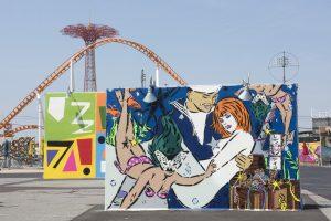 Aiko Coney Art Walls NYC Photo © Martha Cooper