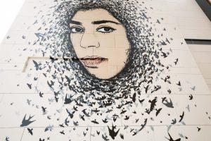 ICY and SOT Dubai Walls Street Art Festival