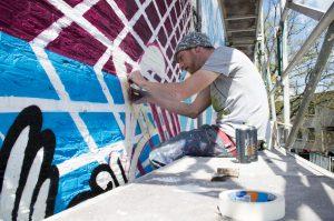Joachim and KShit Street Art Collaboration Heerlen