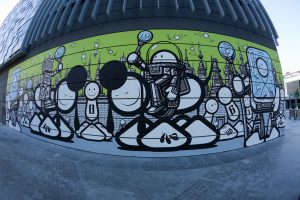 The London Police Dubai Walls Street Art Festival