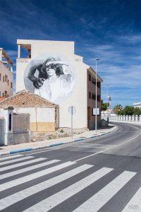 Gômez Street Art festival Mar Menor Los Alcazares