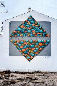 Kobtropical Street Art festival Mar Menor Los Alcazares