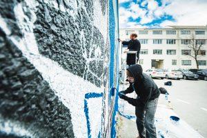 M city Sandnes street art street Norway Photo © Preben Haugstad