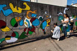 Mariana Dias Coutinho and Leonor Brilha, Muro Street Art Festival