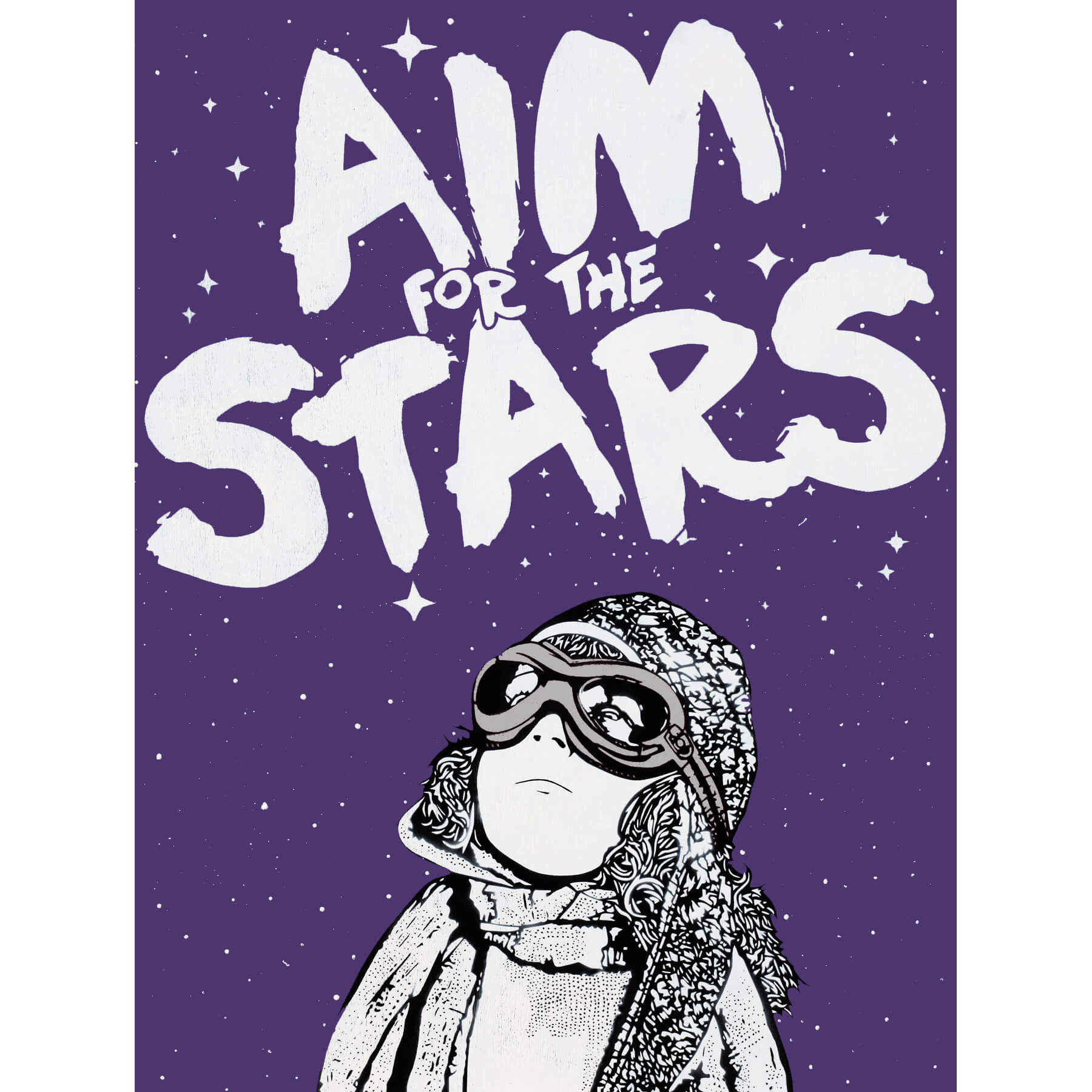 NME - Aim for the Stars (Silver wood edition)
