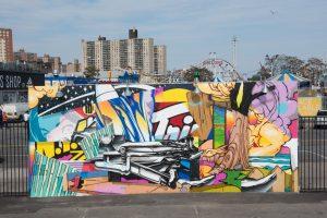 Pose Coney Art Walls NYC Photo © Martha Cooper