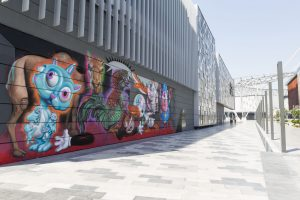 Ron English Dubai Walls Street Art Festival