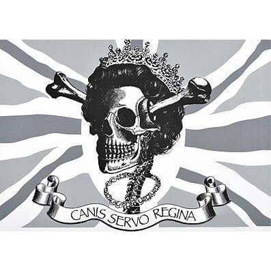 D*face - Canis Servo Regina Print