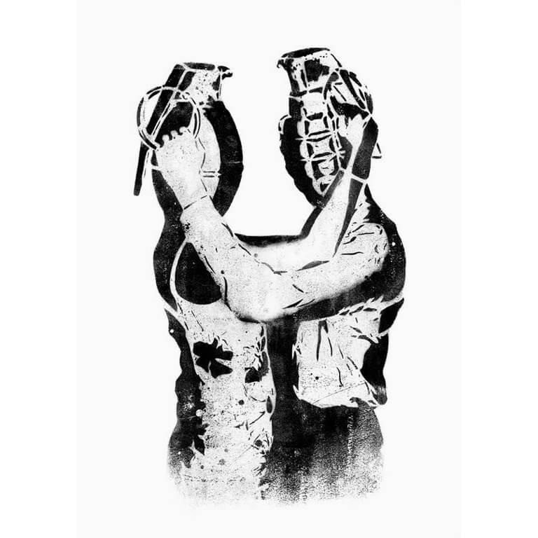 Dolk - Grenade Lovers Print