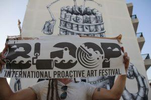 Phelgm BLOOP Street Art Festival, Ibiza Photo © Martha Copper