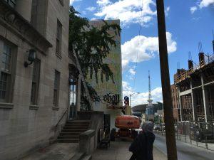 Shoe Nashville Walls Street Art Project