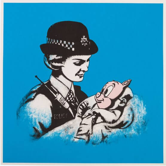 Dolk - Pigmask (Blue) Print