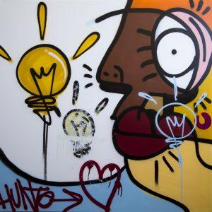 Hunto x Pichiavo Streets of London Canvas