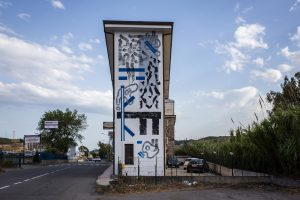Domenico Romeo, Altrove Street Art Festival, Catanzaro 2016 Photo © Angelo Jaroszuk Bogasz