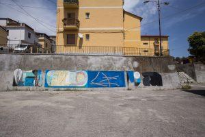 Ekta Nelio Campagnella, Altrove Street Art Festival, Catanzaro 2016 Photo © Angelo Jaroszuk Bogasz