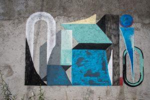 Nelio Campagnella, Altrove Street Art Festival, Catanzaro 2016 Photo © Angelo Jaroszuk Bogasz