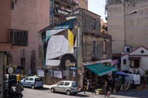 Nelio, Altrove Street Art Festival, Catanzaro 2016 Photo © Angelo Jaroszuk Bogasz