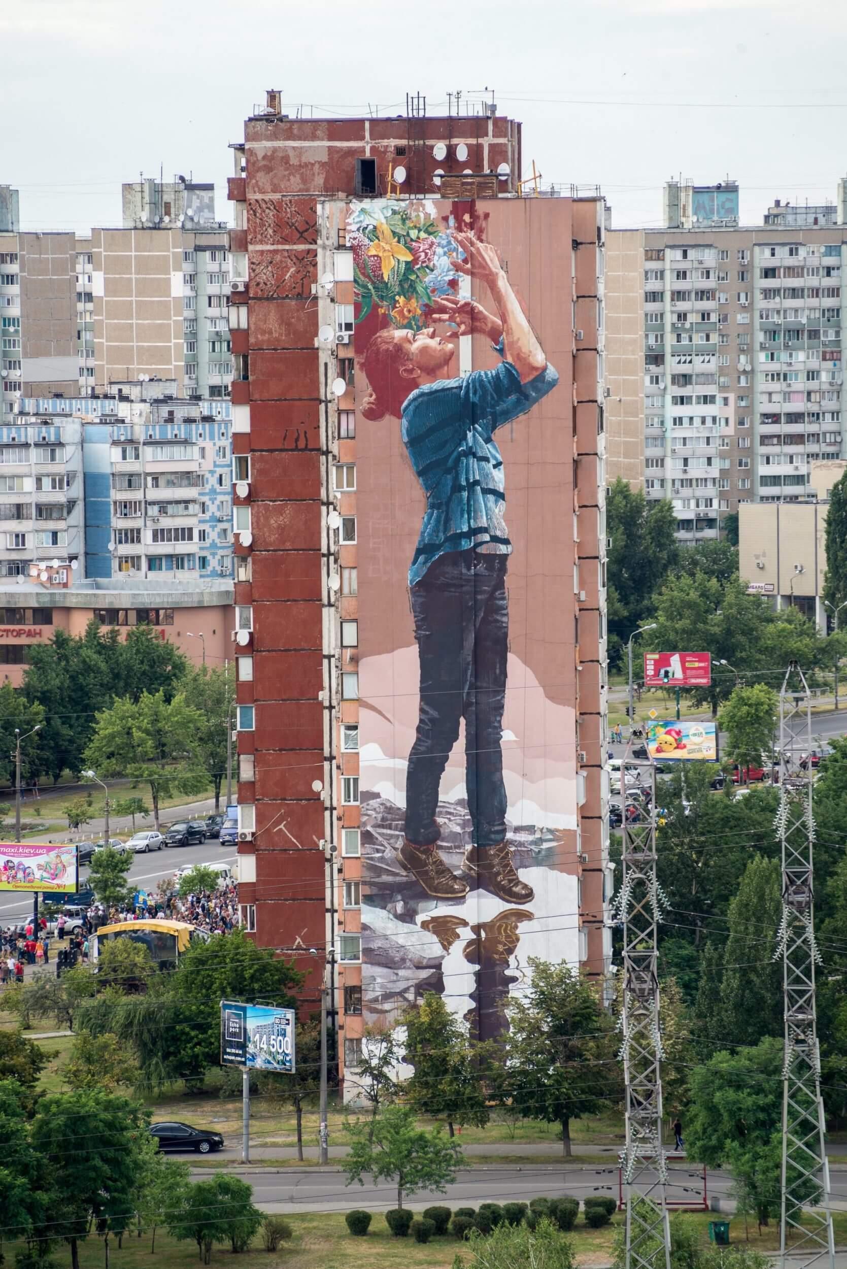 Mural Social Club Art Festival, Kiev, Ukraine 2016