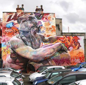Pichiavo - Zeus - Upfest Street Art Festival, Bristol 2016