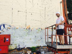 Sebas Velasco, Art United Us, Street Art Project, Kiev 2016