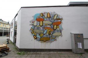 Atle Ostrem, UpNorth Street Art Festival, Bodø, Norway