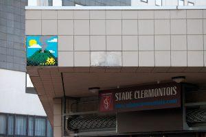 Space Invader, Clermont Ferrand Street Mosaic Art Invasion. Photo © Invader