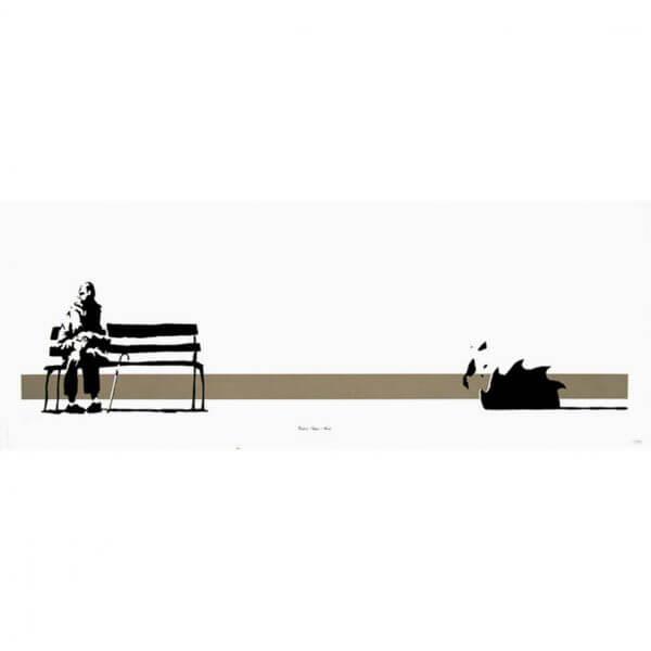 Banksy - Weston Super Mare Print