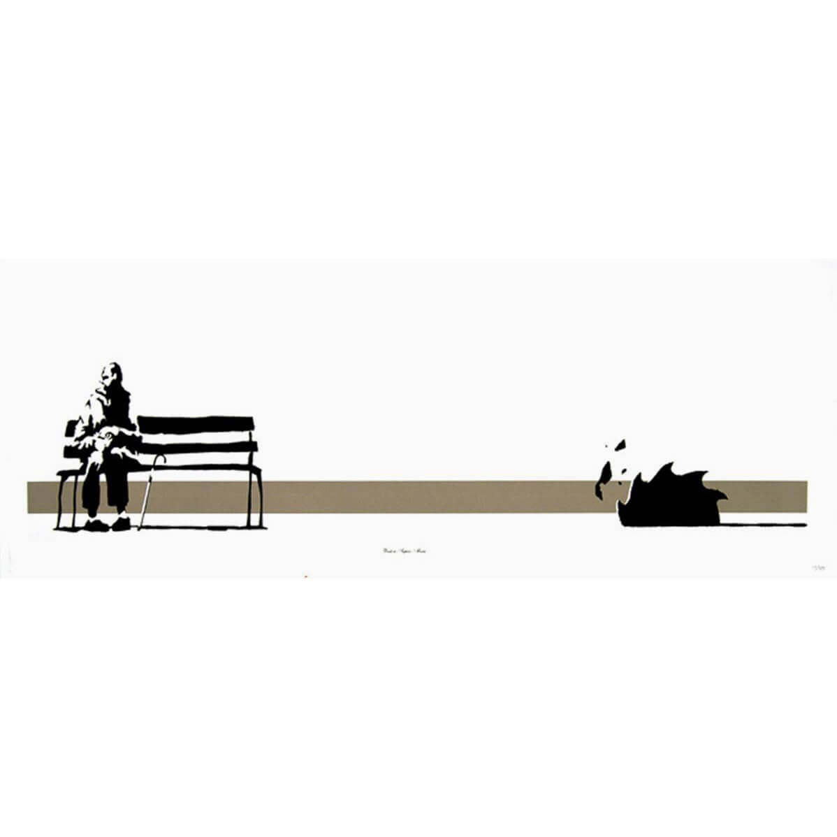 Banksy - Weston Super Mare Print