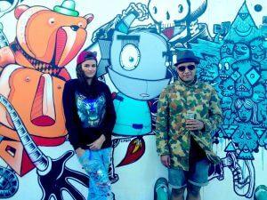 Loes Van Delft Street Art